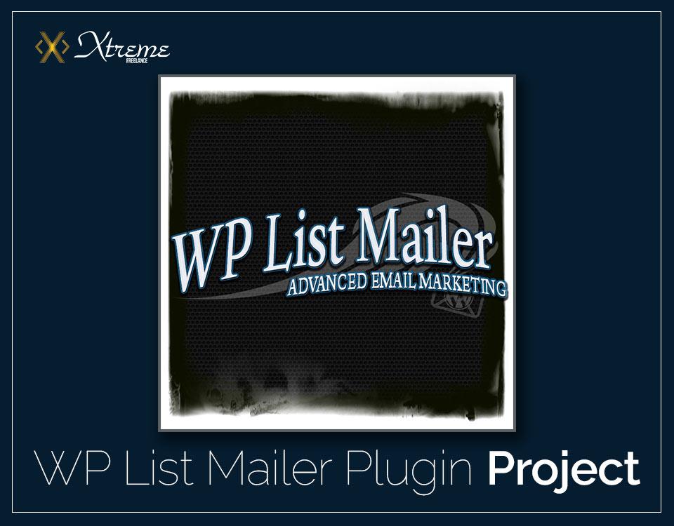 WP List Mailer Plugin Project