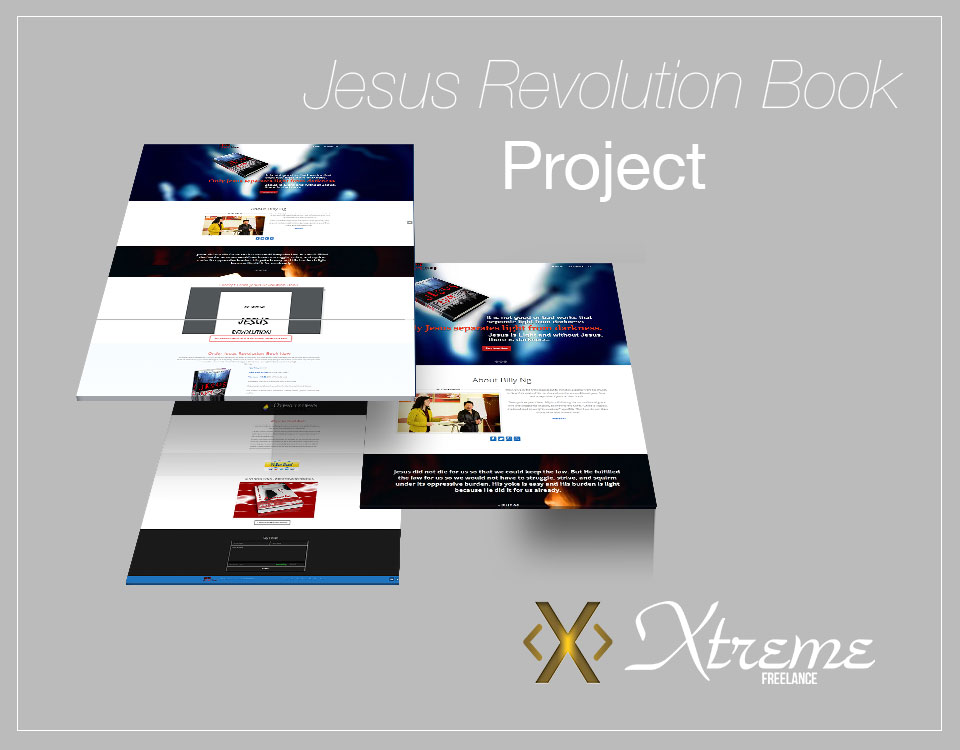 Jesus Revolution Book Project