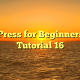 WordPress for Beginners 2015 Tutorial 16