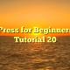 WordPress for Beginners 2015 Tutorial 20