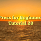 WordPress for Beginners 2015 Tutorial 28