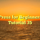 WordPress for Beginners 2015 Tutorial 35