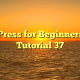 WordPress for Beginners 2015 Tutorial 37