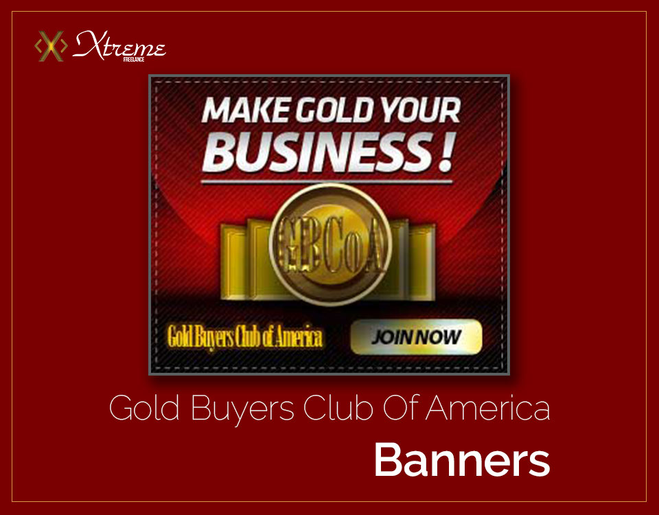 Gold Buyers Club Of America Banners
