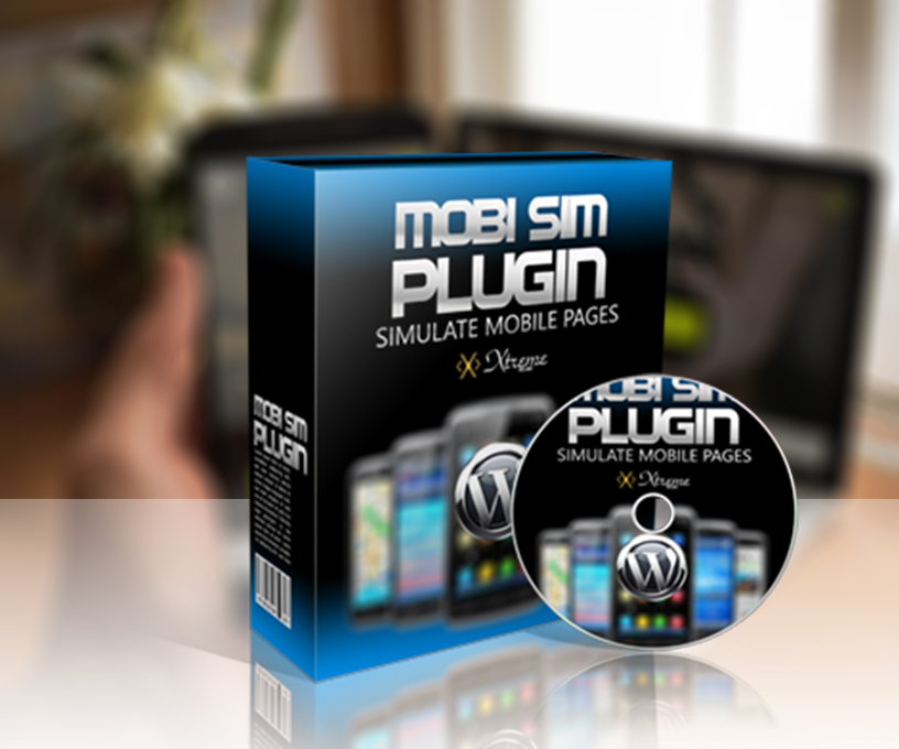 Mobile Page Simulator WP Plugin