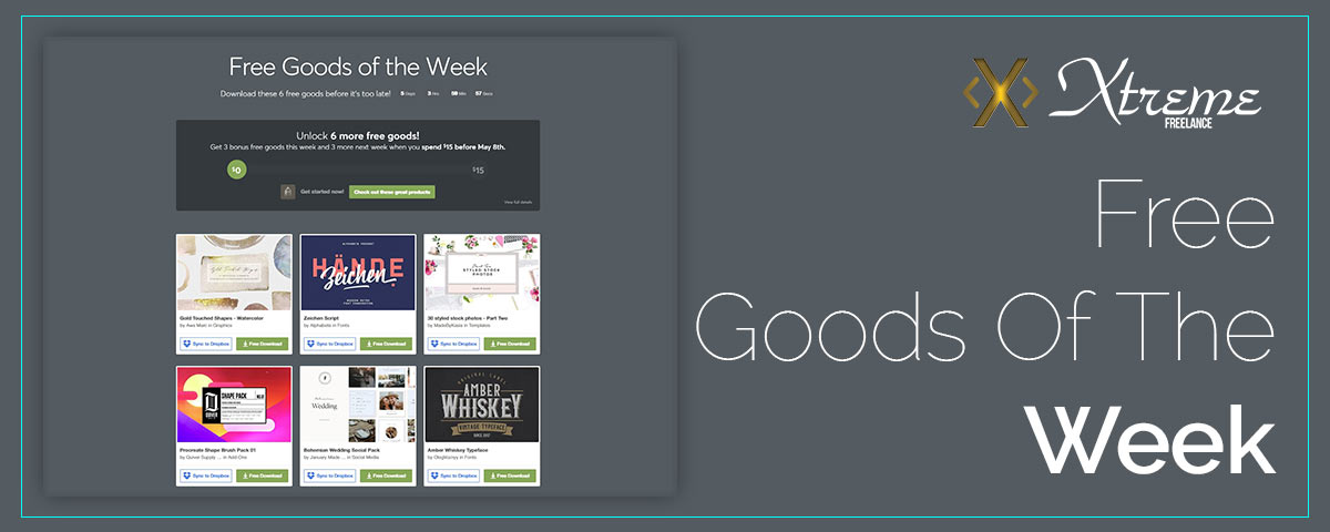 Free Goods Of The Week – Apr.23