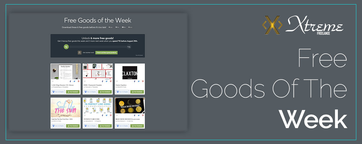 Free Goods Of The Week – Aug.13