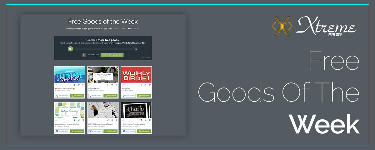 Free Goods Of The Week – Oct.22