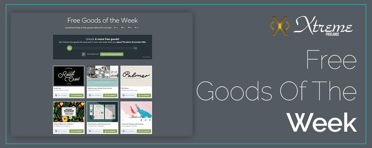 Free Goods Of The Week – Nov.05