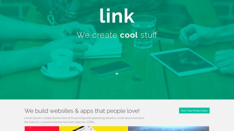 Link Theme Screenshot