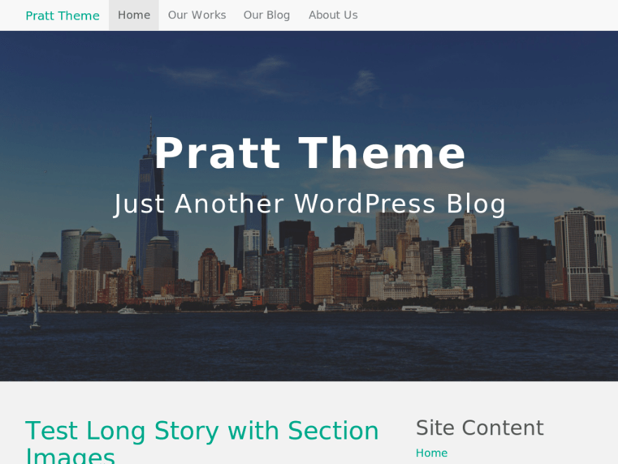 Pratt Theme Screenshot