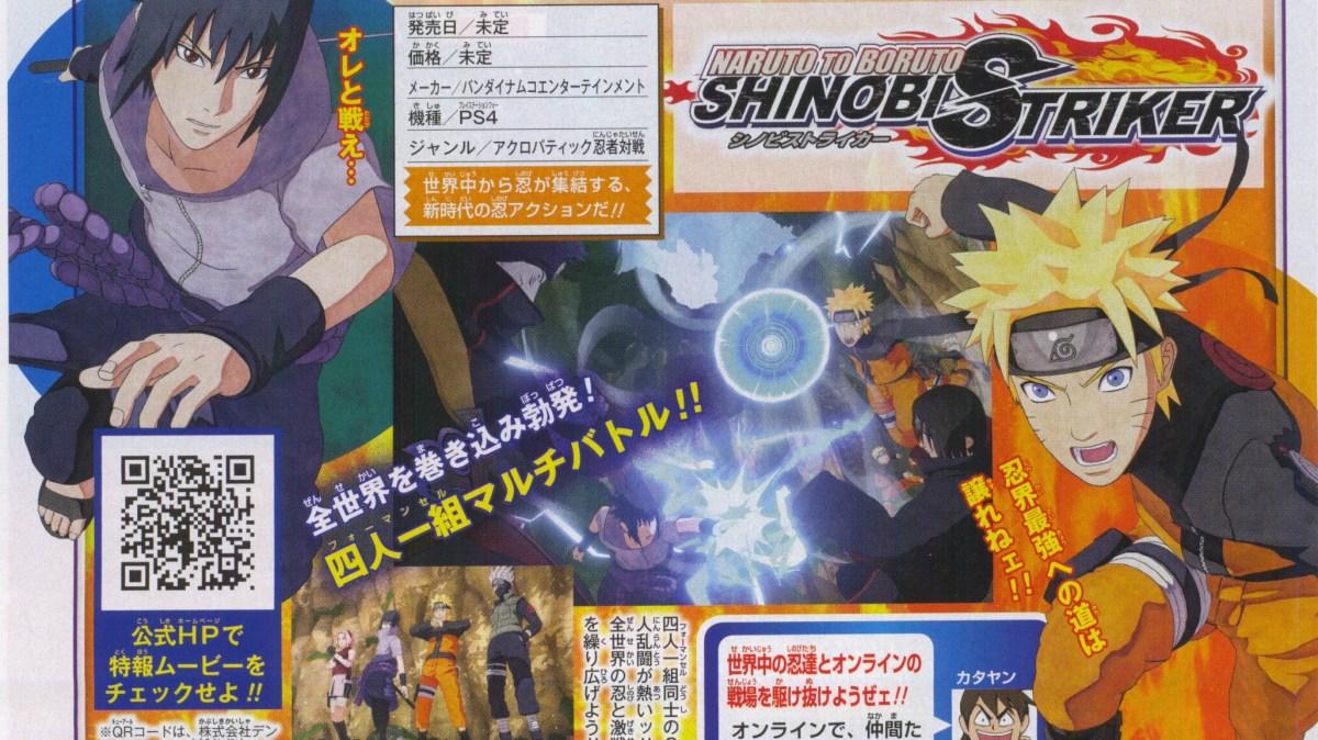 Naruto To Boruto Shinobi Striker A Brand New 8 Player