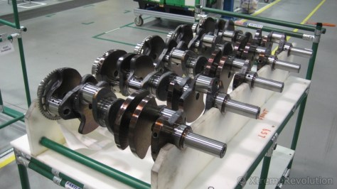 Corvette LSX V8 Crankshafts