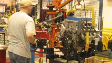 LS9 ZR1 Engine Clutch Install