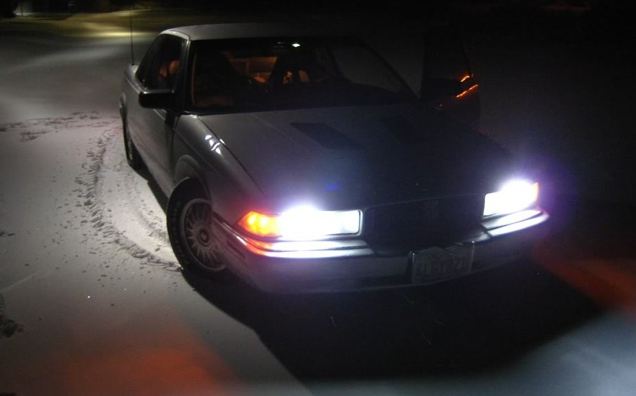 1995 Buick Regal with HID kit