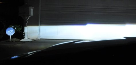 HID Projector Beam Cutoff