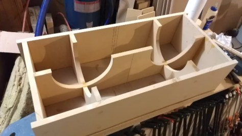 Custom Subwoofer Box Bracing