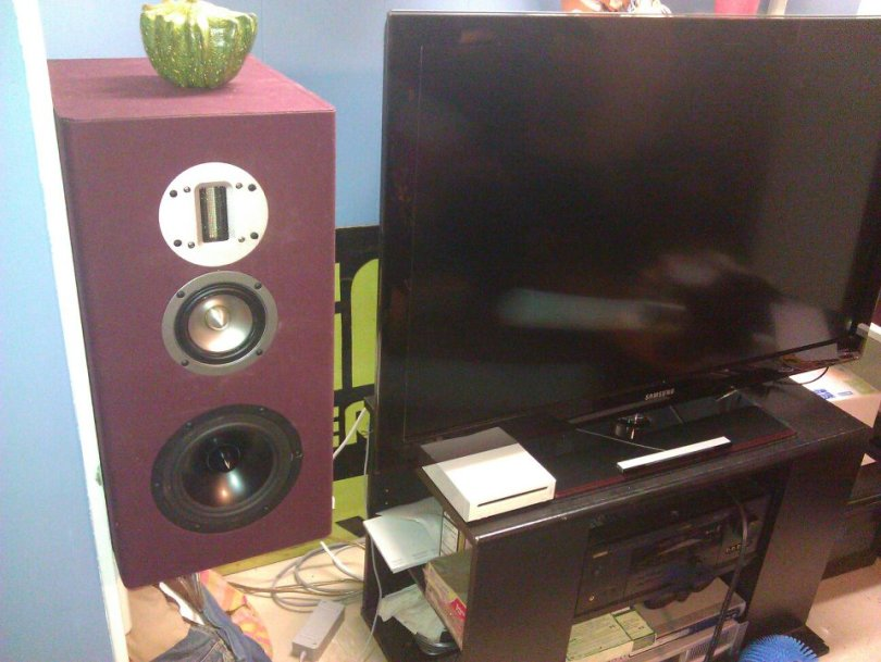 Statement Monitors 3-way Speakers