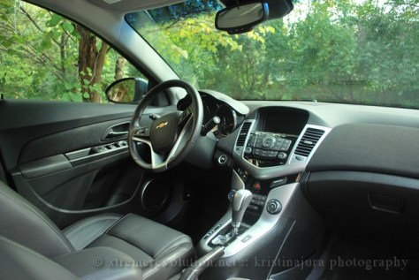Chevy Cruze LTZ Interior