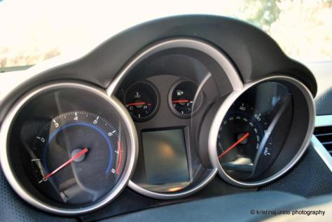 Chevy Cruze Gauges