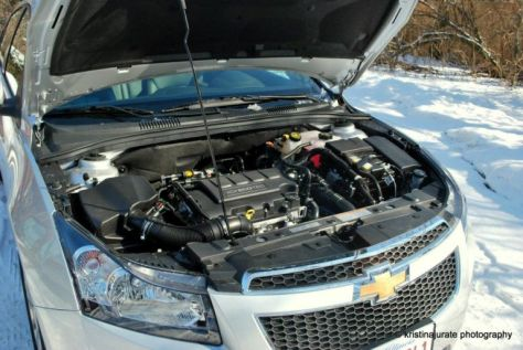 Chevy Cruze Engine Bay