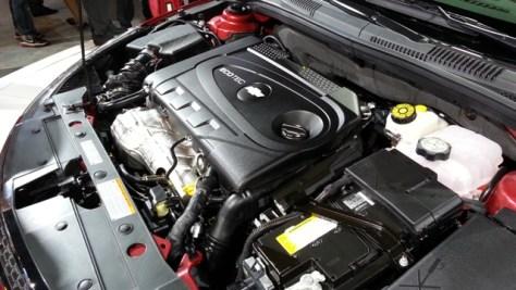 2014 Chevrolet Cruze Diesel Engine Bay