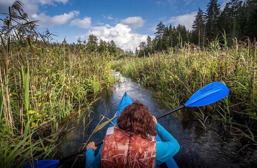 canoe vs kayak - kayak 2