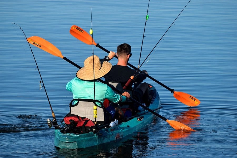 Best inflatable fishing kayaks - thumb