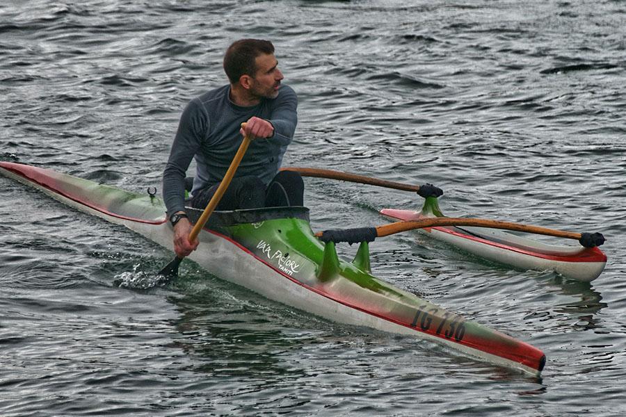Kayak outrigger - thumb