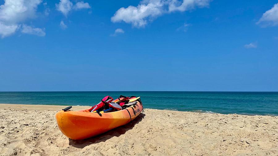 Ocean kayaking near me