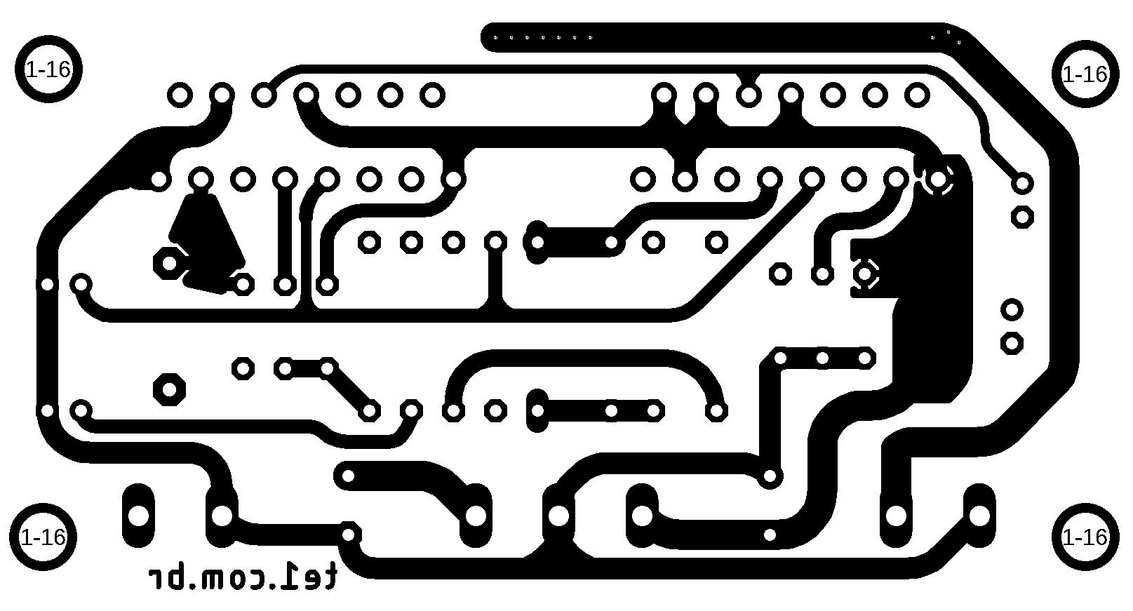 Audio Power Amplifier Modular Tda In Parallel Minimus