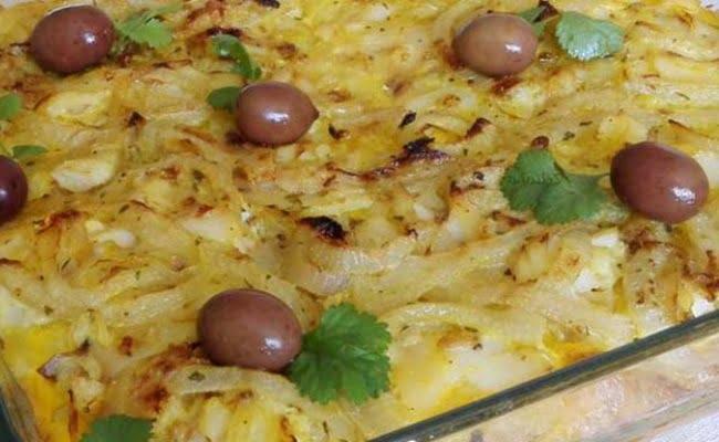 Empadão de Bacalhau com ovos