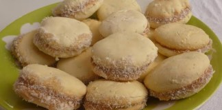 Receita de Alfajor de amido de milho (Maizena)