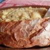 Receita de Bacalhau escondido na broa