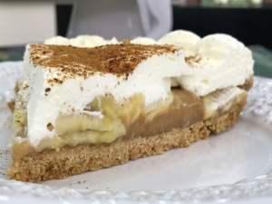 Banoffee Pie Torta de Banana com Doce de Leite