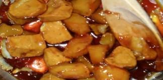 Receita de Batata Doce Caramelizada