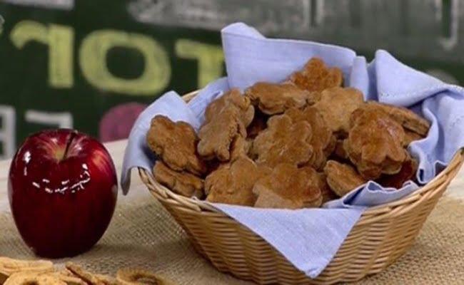 Receita de Biscoitinho Diet de Maçã