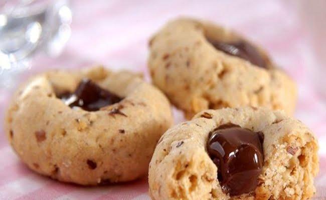 Receita de Biscoito Amanteigado com Chocolate