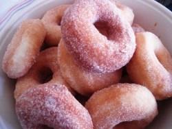 Receita de Biscoito Frito com Açúcar