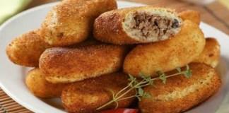 Receita de Bolinho de batata com carne moída
