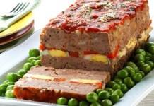 Receita de Bolo de Carne com Recheio