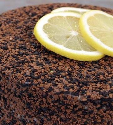 Receita de Bolo de Chocolate com Brigadeiro de Limão Siciliano