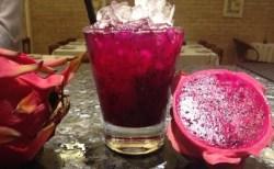 Receita de Caipirinha de Pitaya Dragon Fruit