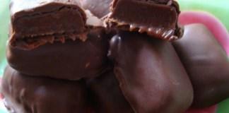Receita de Caramelos de Chocolate
