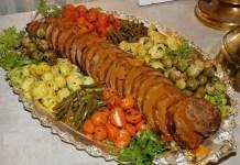 Carne Assada Pelúcia e Sautes de Legumes