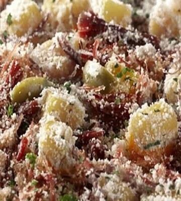 Receita de Carne Seca na pressão com farofa