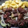 Carne de sol com mandioca