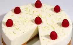 Receita de Cheesecake de limão verde