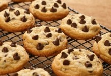 Receita de Coockies de chocolate