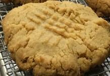 Receita de Cookies de Paçoca